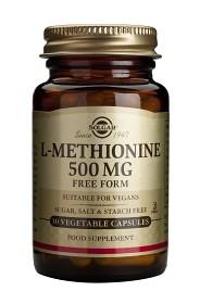 Bild på Solgar L-Metionin 500 mg 30 kapslar