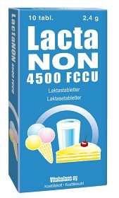 Bild på Lactanon 4500 FCCU 10 tabletter