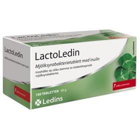 Bild på LactoLedin Mjölksyrabakterietablett 100 st
