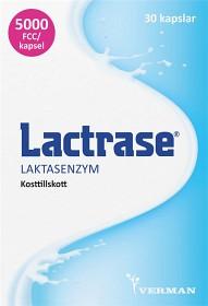 Bild på Lactrase laktasenzym, kapslar 30 st