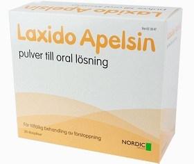 Bild på Laxido Apelsin, pulver till oral lösning 20 st