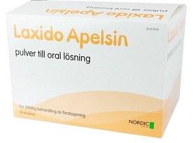 Bild på Laxido Apelsin, pulver till oral lösning 50 st