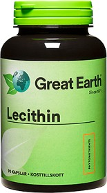 Bild på Great Earth Lecithin 1200 mg 90 kapslar