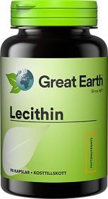 Bild på Great Earth Lecithin 1200 mg 90 kapslar