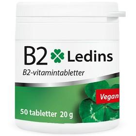 Bild på Ledins B2 Vitamin 25 mg, 50 tabletter