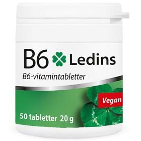 Bild på Ledins B6 Vitamin 25mg, 50 tabletter