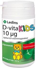 Bild på Ledins D-vita Kids 10 µg 90 tabletter