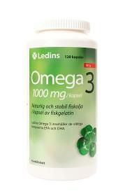 Bild på Ledins Omega-3 1000 mg, 120 kapslar