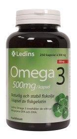 Bild på Ledins Omega-3 500 mg, 250 kapslar