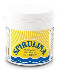 Bild på Lindroos Spirulina 200 tabletter