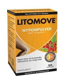 Bild på Litomove Nyponpulver 100 kapslar