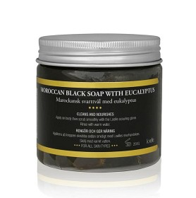 Bild på Loelle Moroccan Black Soap 200 g
