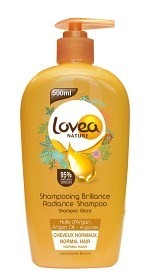 Bild på Lovea Shampoo Argan Oil 500 ml