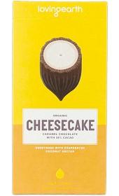 Bild på Loving Earth Cheesecake Caramel Chocolate 80 g