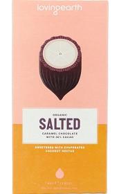 Bild på Loving Earth Salted Caramel Chocolate 80 g