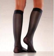 Bild på Mabs Nylon knästrumpa svart XL