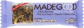 Bild på MadeGood Bar Chia & Berries