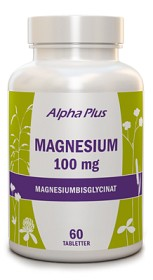 Bild på Alpha Plus Magnesium 60 tabletter