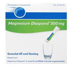 Bild på Magnesium Diasporal, granulat till oral lösning 300 mg 20 st