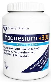 Bild på Magnesium +300 300 mg 60 kapslar