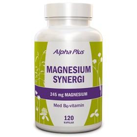 Bild på Alpha Plus Magnesium Synergi 120 kapslar