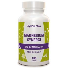 Bild på Alpha Plus Magnesium Synergi 180 kapslar