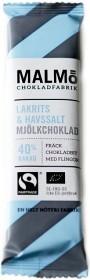 Bild på Malmö Chokladfabrik Malmöbar Lakrits & Havssalt 25 g