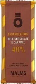 Bild på Malmö Chokladfabrik Ö Milk Caramel 40% 55 g