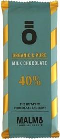 Bild på Malmö Chokladfabrik Ö Milk Chococolate 40% 55 g
