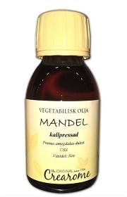 Bild på Mandelolja kallpressad 100 ml