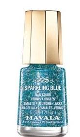 Bild på Mavala Minilack 225 Sparkling Blue