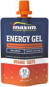 Bild på Maxim Endurance Energy Gel Orange & Caffeine 24x100 g