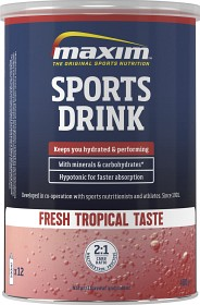 Bild på Maxim Sport Drink Tropical flavor 480 g