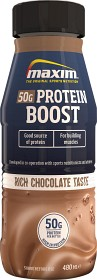 Bild på Maxim Protein Boost Carb Reduced Chocolate 480 ml