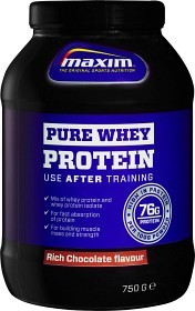 Bild på Maxim Strength Pure Whey Protein Rich Chocolate 750 g