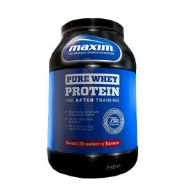 Bild på Maxim Strength Pure Whey Protein Sweet Strawberry 2 kg