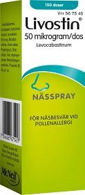 Bild på Livostin nässpray, suspension 50 mikrogram/dos, 150 dos(er)