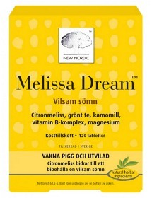 Bild på Melissa Dream 120 tabletter