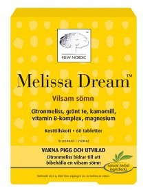 Bild på Melissa Dream 60 tabletter