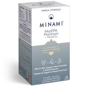 Bild på Minami MorEPA Platinum 60 kapslar