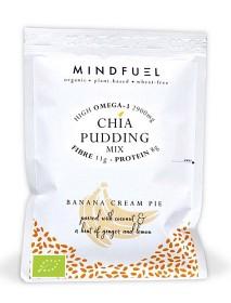 Bild på Mindfuel Chia Pudding Banana Cream Pie