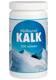 Bild på Mjölksyrad Kalk 200 tabletter
