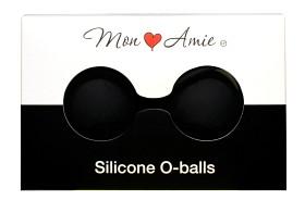 Bild på Mon Amie Silicone O-balls knipkulor svart