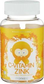 Bild på Monkids C-vitamin & Zink 60 tuggtabletter