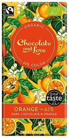 Bild på Mörk Choklad 65% Orange 80g