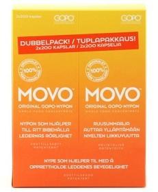 Bild på MOVO Dubbelpack 2 x 200 kapslar