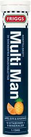 Bild på Friggs Multiman 20 brustabletter
