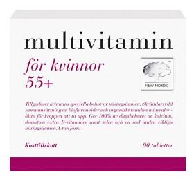 Bild på Multivitamin för kvinnor 55+ 90 st
