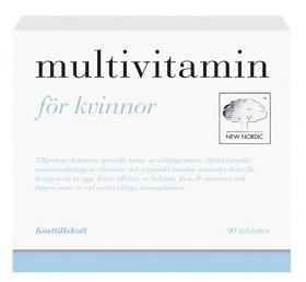 Bild på Multivitamin för Kvinnor 90 st