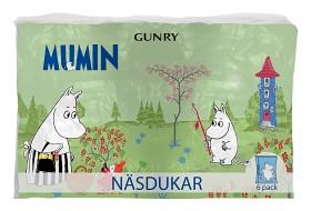 Bild på Mumin näsduk 6 x 9 st
